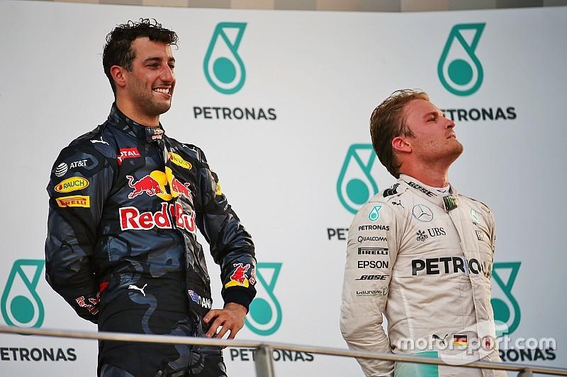 """Ricciardo - La retraite de Rosberg? """"Pas une décision facile à prendre"""""""