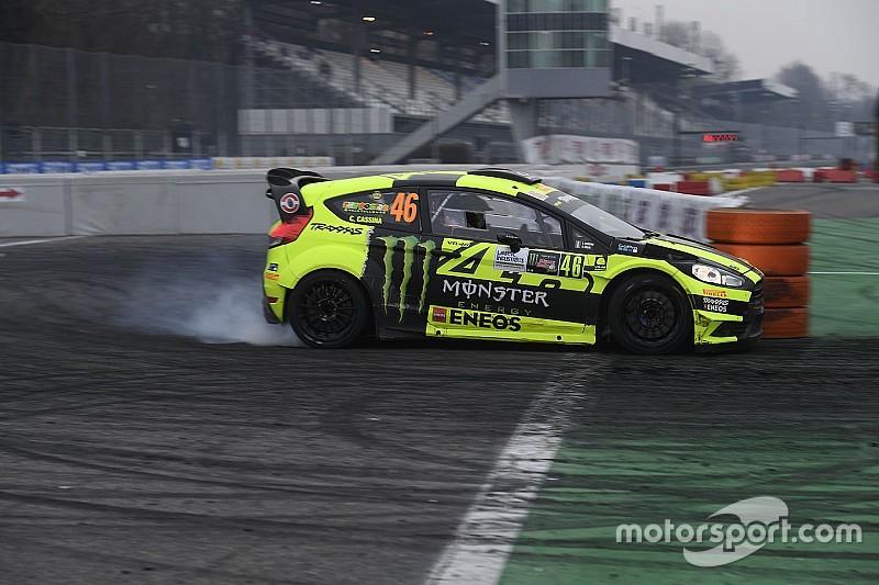 Valentino Rossi se impone en el Monza Rally Show