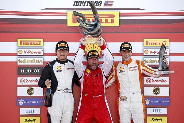 Ferrari Rennbericht Ferrari-Weltfinale in Daytona: Dramatische Titelentscheidung in Trofeo Pirelli