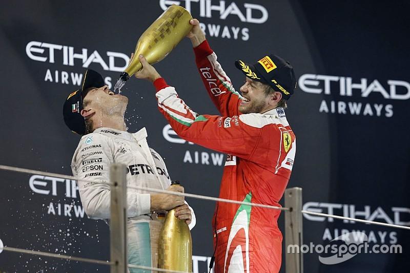 """Vettel - Il """"devrait être clair"""" que je ne remplacerai pas Rosberg"""