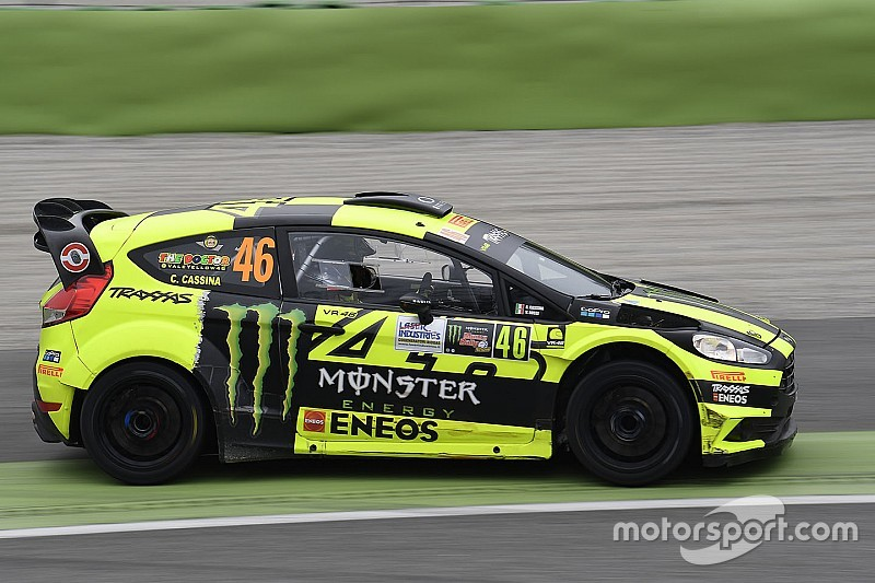Rossi raih kemenangan kelima di Monza Rally Show