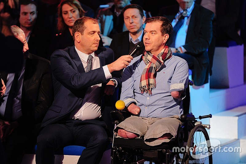 Autosport Awards - Le Français Frédéric Sausset récompensé