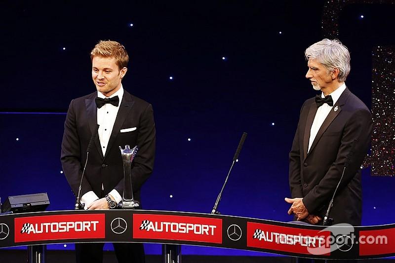 Rosberg, Hamilton e la Mercedes fanno incetta di Autosport Awards