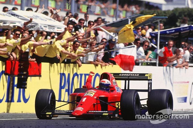 Paul Ricard 1990 - Prost s'impose, les March étonnent pour la dernière au Castellet