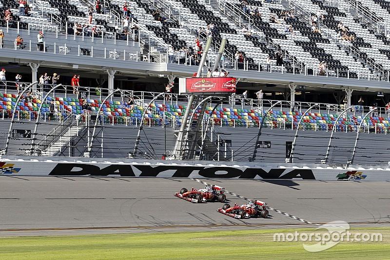 Galería: Así fue el debut de un Ferrari F1 en Daytona
