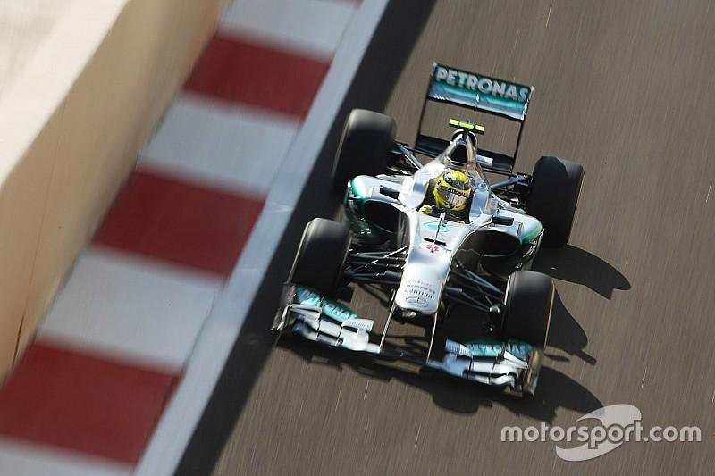 Fotostrecke: Alle Formel-1-Autos von Nico Rosberg