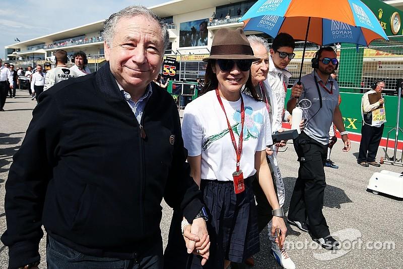 Todt se diz feliz com retorno de GP da França