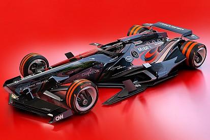 图集:幻想F1之2030年概念设计—迈凯伦车队&红牛二队