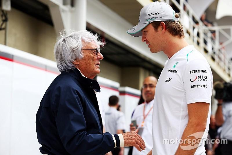 """Ecclestone: """"Nico es un campeón del mundo y nada más"""""""