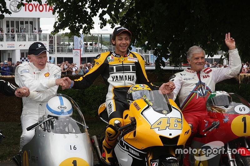 """Agostini: """"Rosberg lo deja y Rossi con 37 sigue, es cuestión de pasión"""""""