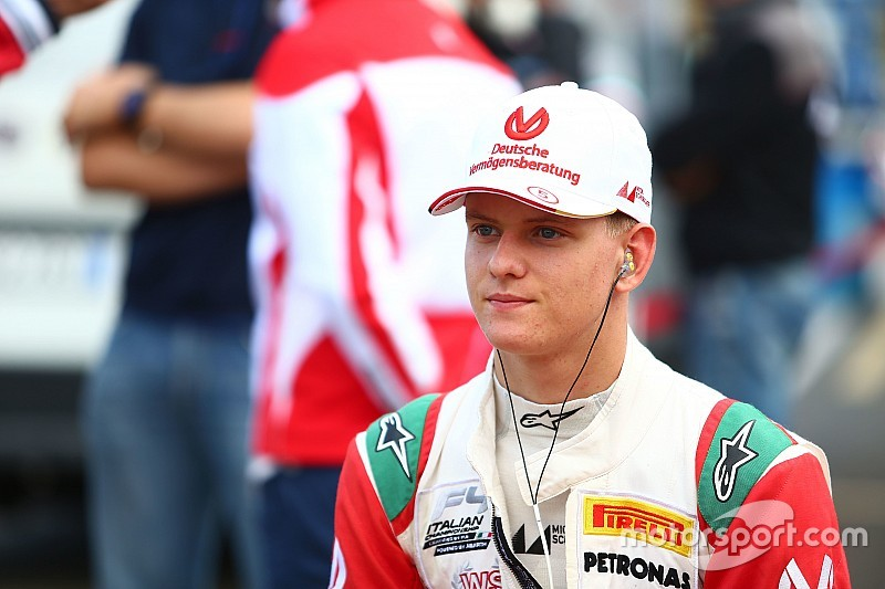 Mick Schumacher, listo para la Fórmula 3, dicen en Prema