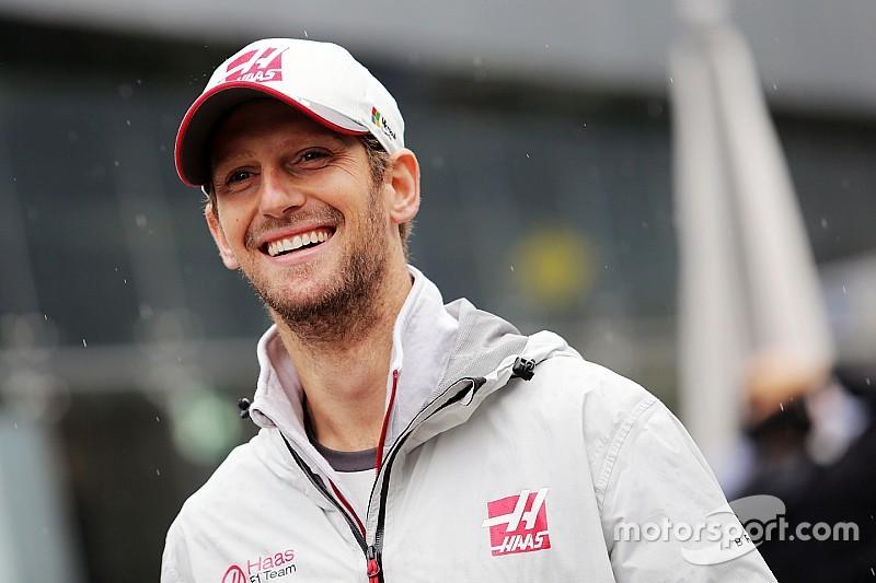 【F1】グロージャンが氷上レースに復帰。今季初の表彰台を目指す