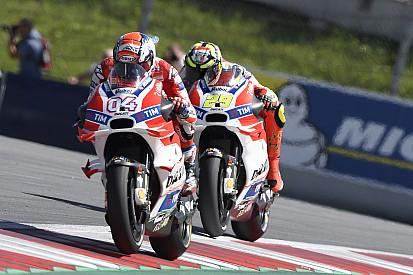 Dovizioso - Iannone sans respect; Lorenzo, une arrivée positive