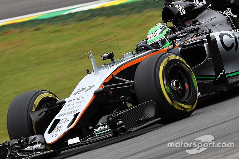 """Хюлькенберг сподівається, що у 2017 гонщики не будуть """"обмежені"""" через гуму"""