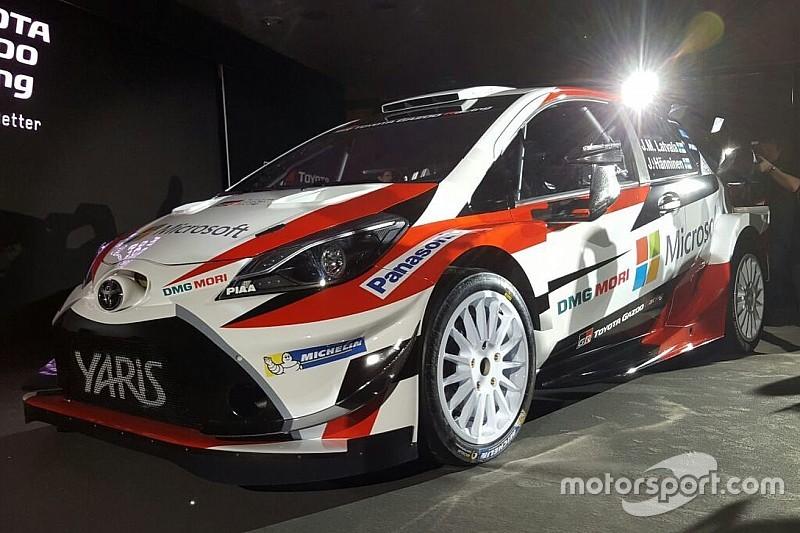 La Toyota Yaris WRC dévoilée, Latvala confirmé