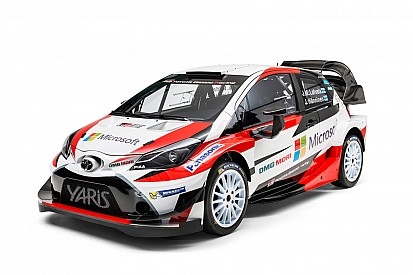Toyota desvela su Yaris WRC 2017