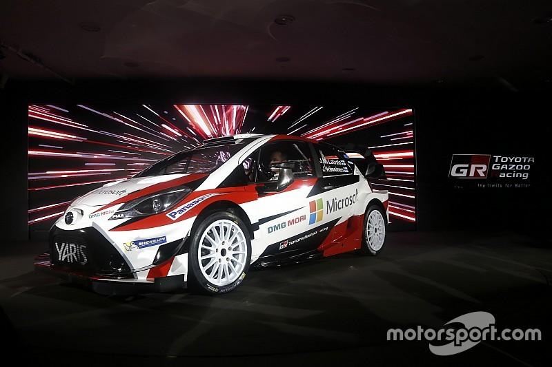 Toyota presenta el Yaris WRC 2017