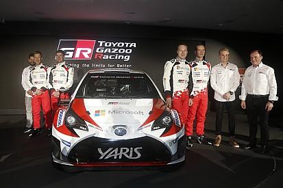 Fotogallery: la presentazione della Toyota Yaris WRC Plus 2017