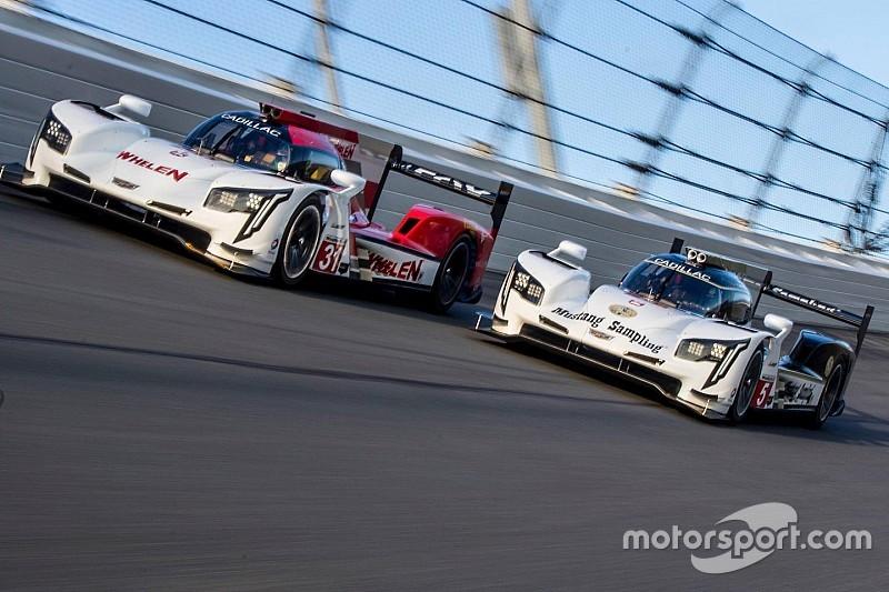 Cadillac lidera un triplete en Daytona
