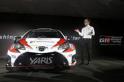 """Toyota """"déteste perdre, et cela s'applique au WRC"""""""