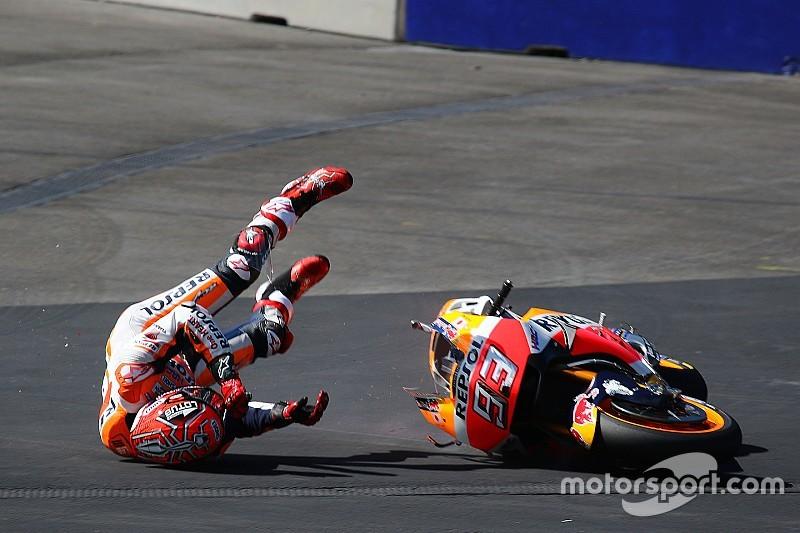 Рекорд за кількістю аварій в MotoGP: хто винен?