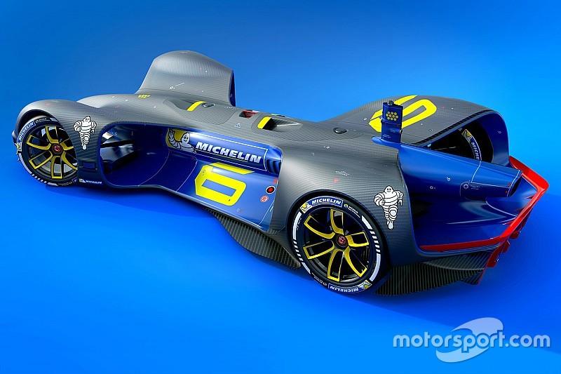 Michelin стане постачальником шин для серії Roborace
