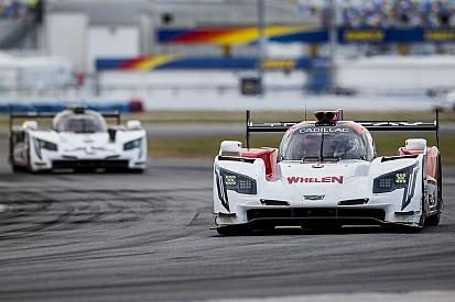 Les Cadillac en pointe lors des essais à Daytona