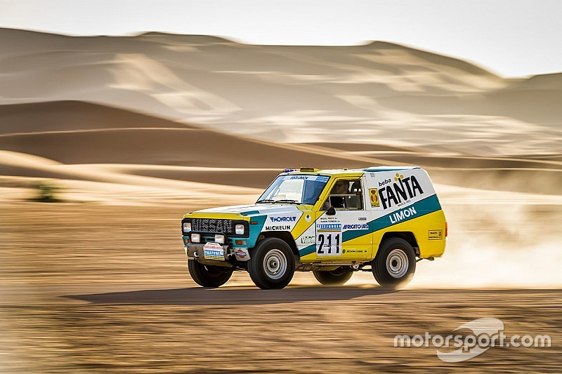 El Nissan Patrol Fanta Limón del Dakar de 1987 vuelve a la vida
