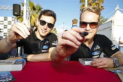 Camilli devrait courir, Østberg sur une WRC 2017