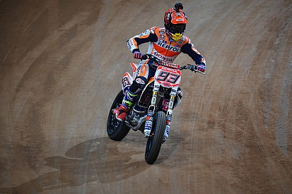 Marquez leads the way in Superprestigio Dirt Track practice