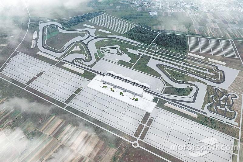 Ucrania presenta el diseño de un circuito para la Fórmula 1