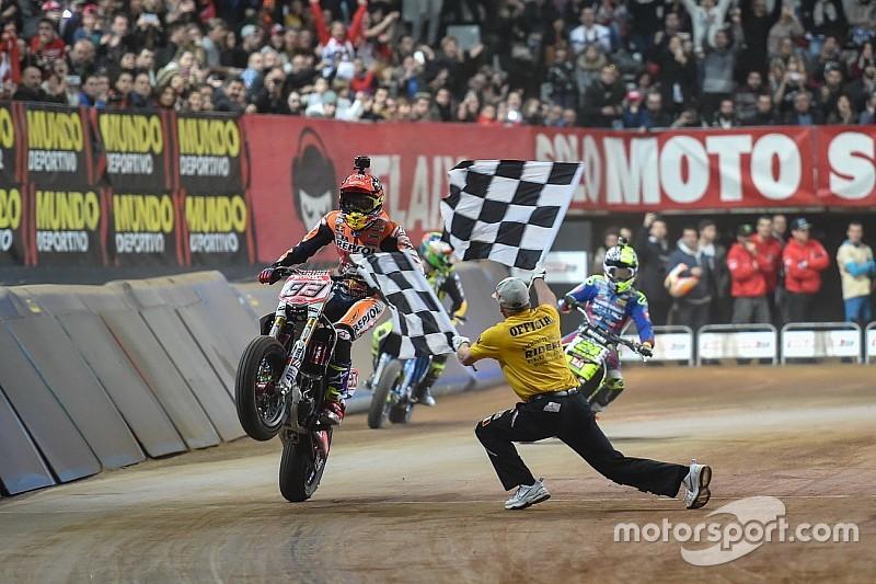Marc Marquez gewinnt Superprestigio in Barcelona