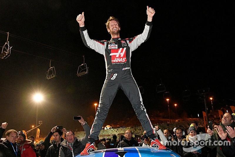 Grosjean s'impose au Trophée Andros