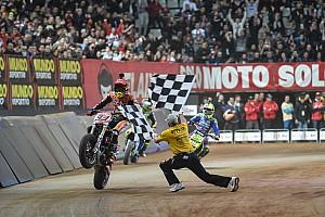 Bike Репортаж з гонки Маркес вдруге перемагає на Superprestigio Dirt Track
