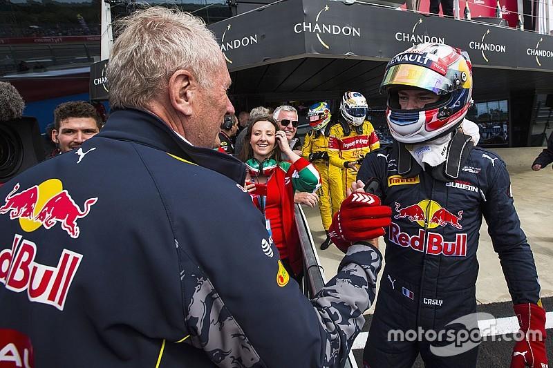 加斯利:与马科博士关系有提升,未来F1席位依旧有希望
