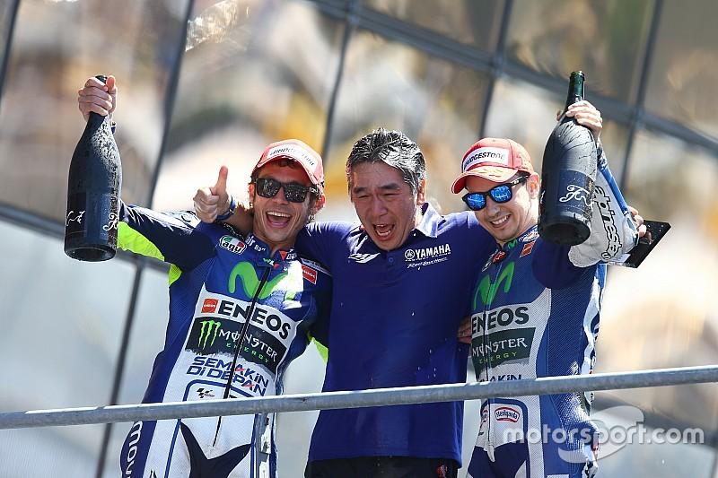 Galería: Los dobletes de Rossi y Lorenzo en Yamaha