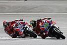 Iannone over Dovizioso: