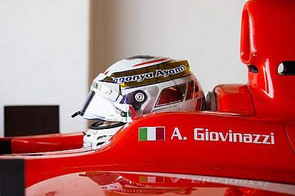 Antonio Giovinazzi devient troisième pilote Ferrari
