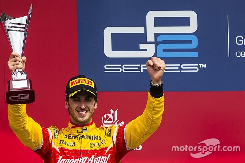 吉奥维纳兹加入法拉利任第三车手