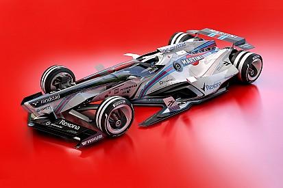 Formel-1-Designstudie für 2030: Williams & Force India