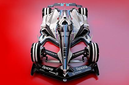 Képeken a 2030-as Williams és Force India