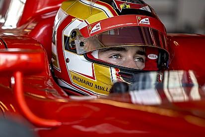 Charles Leclerc ha iniziato lo sviluppo del DRS per la GP3