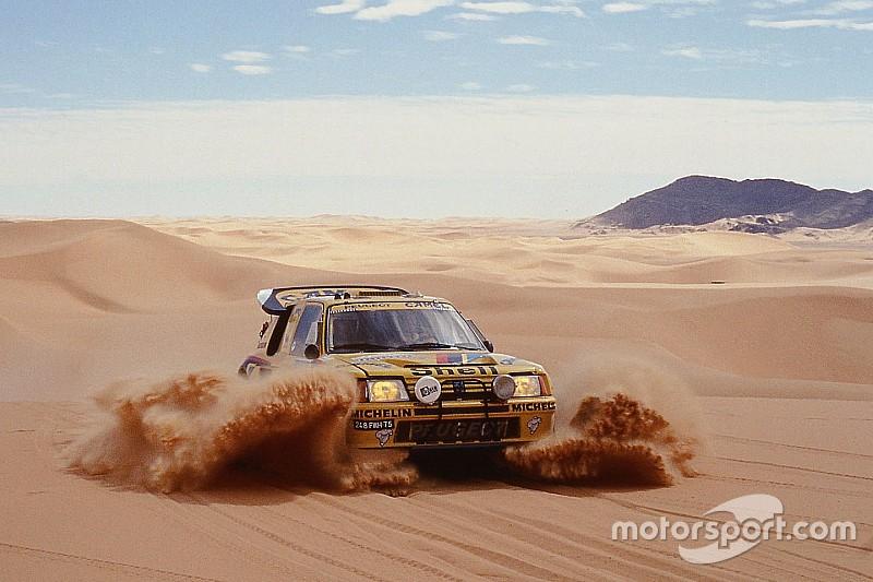 Peugeot, 30 años del debut en el Dakar