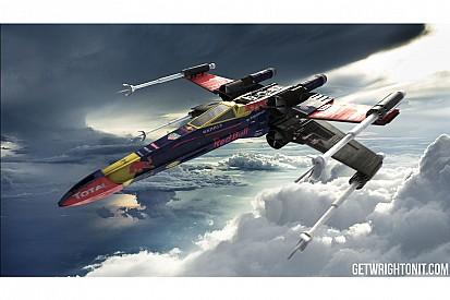 Fotostrecke: X-Wing aus Star Wars im Formel-1-Design