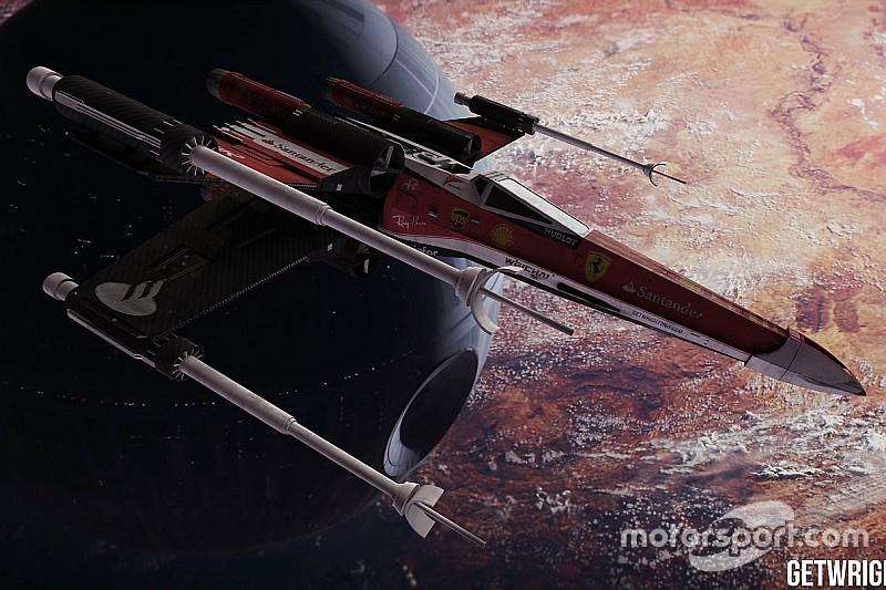 Diaporama - Et si Star Wars s'habillait aux couleurs de la F1?