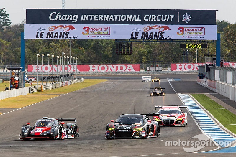 Back to the warmth for round three of the Asian Le Mans Series