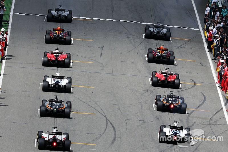 2016 F1 sezonunda pilotlarının ortalama grid pozisyonu