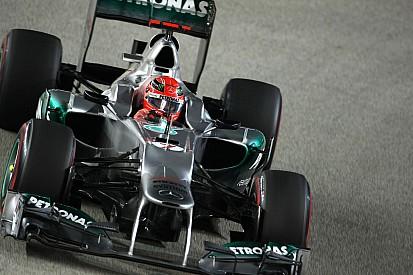 Галерея: вторая карьера Михаэля Шумахера в Формуле 1