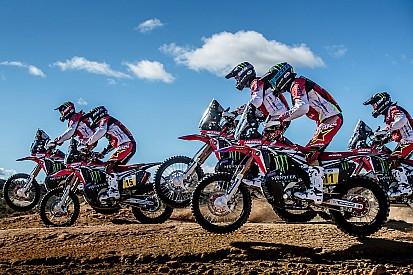 Dakar: la Honda con un solo obiettivo, vincere fra le moto