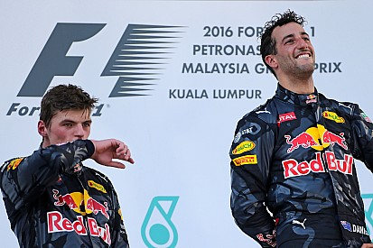 【F1】リカルド「フェルスタッペンは評価を上げるためのプラス要因」